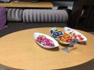 メトロポリタン自習室 お菓子